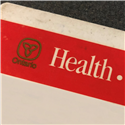 Red White Health Card
