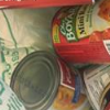 Food bank can donation