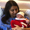 Athias Bachan is the first baby born at Windsor Re