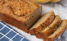 RIDICULOUSLY SIMPLE BANANA BREAD