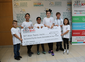 W.E. Care For Kids Donation