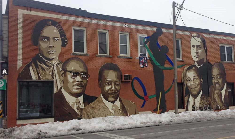 black history mural Windsor